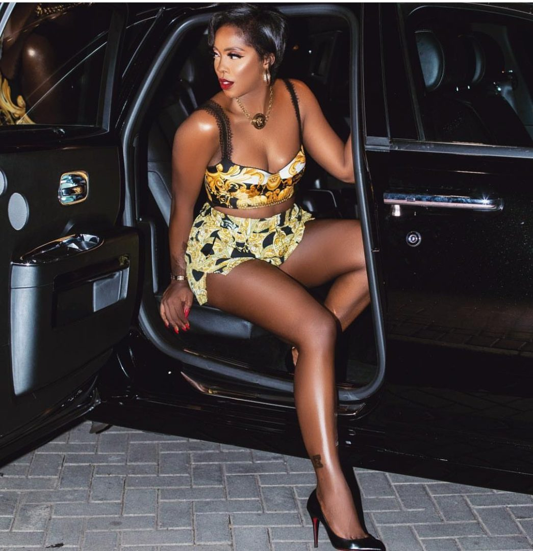 Tiwa Savage slays in her sexy outfit at the VGMAs