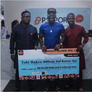 tobi seals endorsement deal