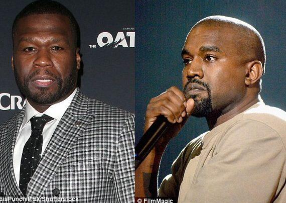 50 Cent mocks Kanye West for getting liposuction
