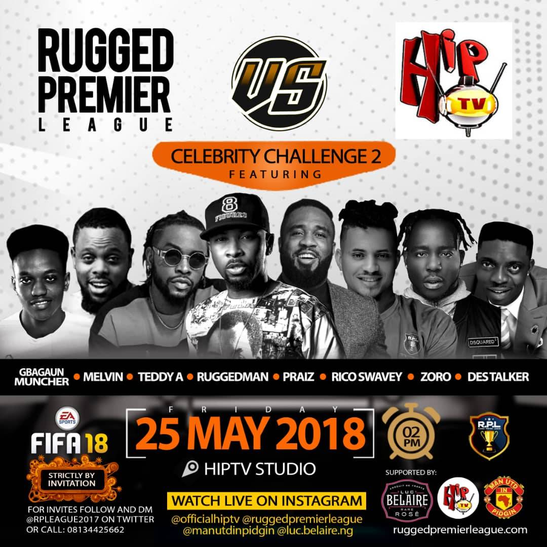 Breaking News! Belaire Supports Ruggedmans Celebrity Rpl Challenge2