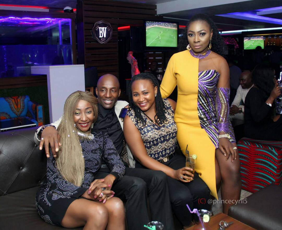 John Fashanu and actress Rachel Bakam spotted together looking loved up