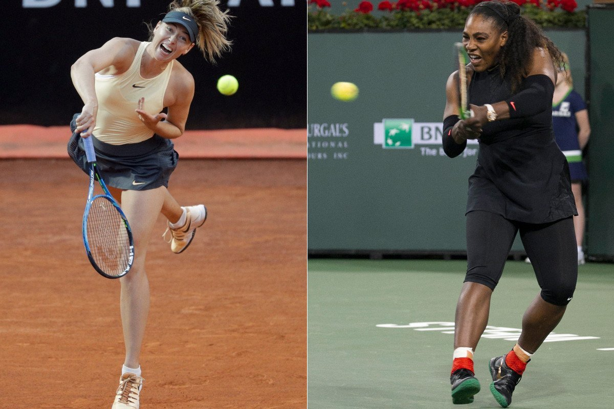Serena Williamscould faceMaria Sharapovain the fourth round of the French Open