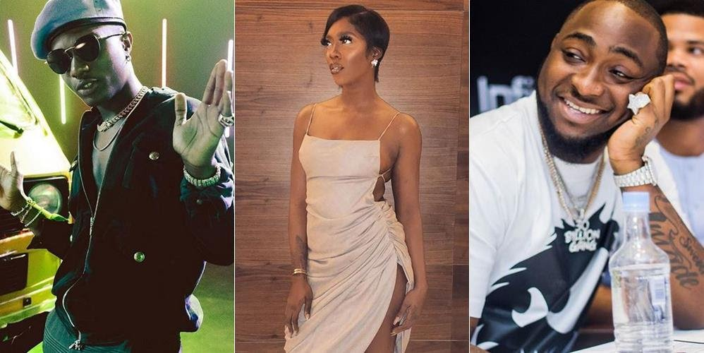 Tiwa Savage Reacts After Davido 'Confirmed' Her Relationship With Wizkid