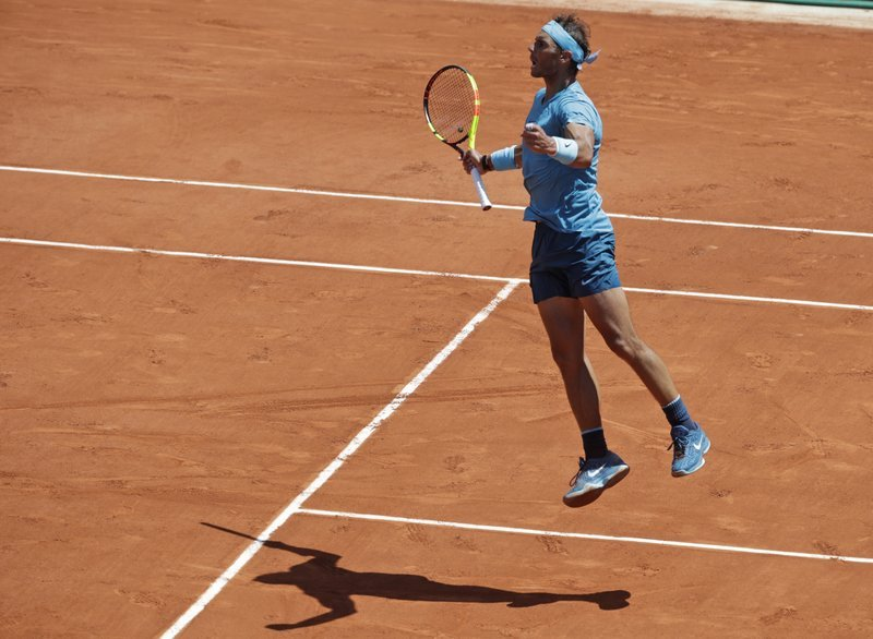 Nadal moves into 11th French Open semifinals, Beats Schwartzman 4-6, 6-3, 6-2, 6-2 (2)
