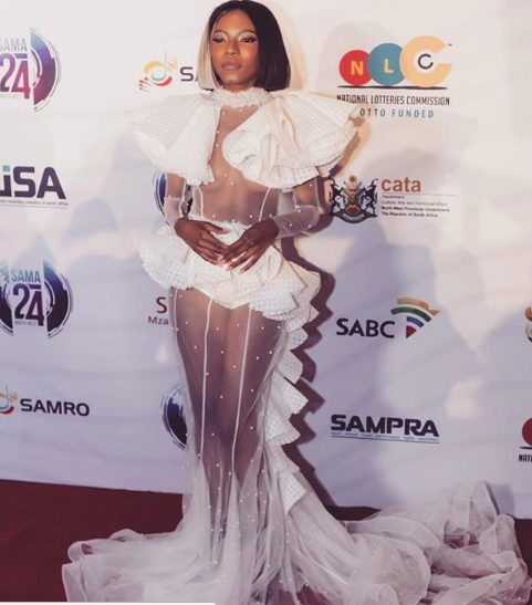 South African celebrities slay on the red carpet of the 2018 SAMA