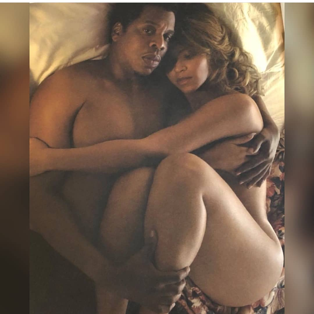These photos of Beyonce and Jay Z unclad is everything 1