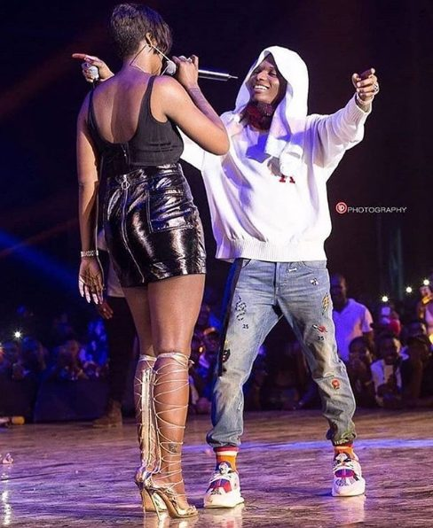Adorable Photo Of Wizkid And Tiwa Savage Proves Their 'Chemistry Is Undeniable'