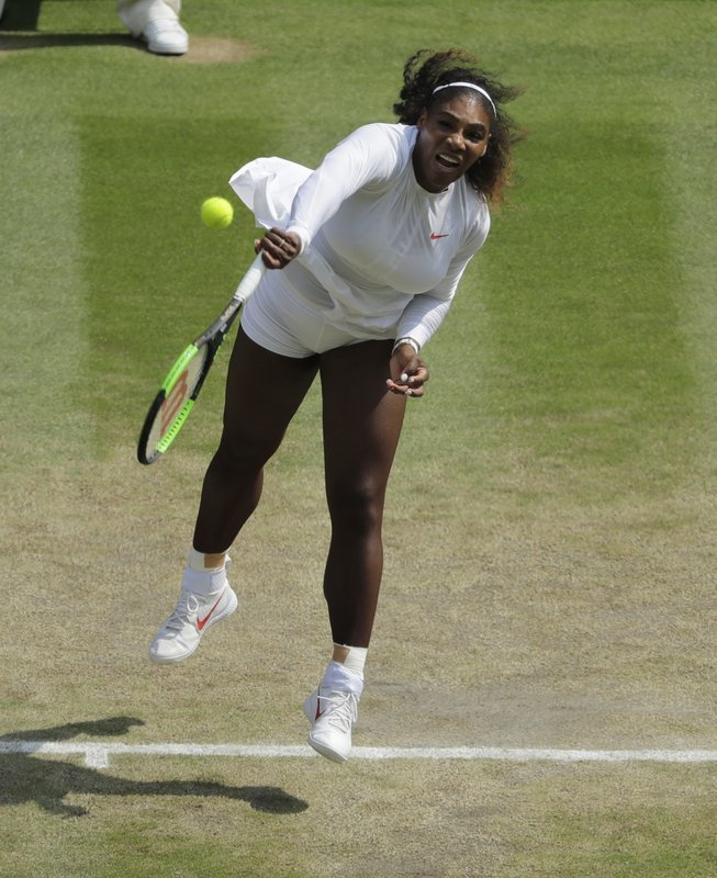 Serena Williams reaches 10th Wimbledon final with 2-set win