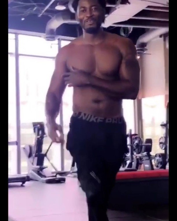 Tiwa Savage Gushes Over Her Ex, Teebillz As He Hits The Gym (video)