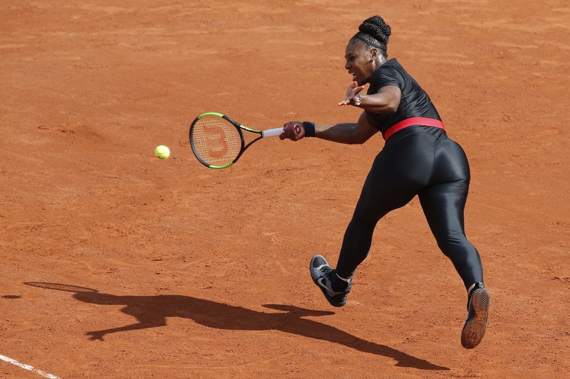 Serena OK with French Open Federation despite catsuit ban