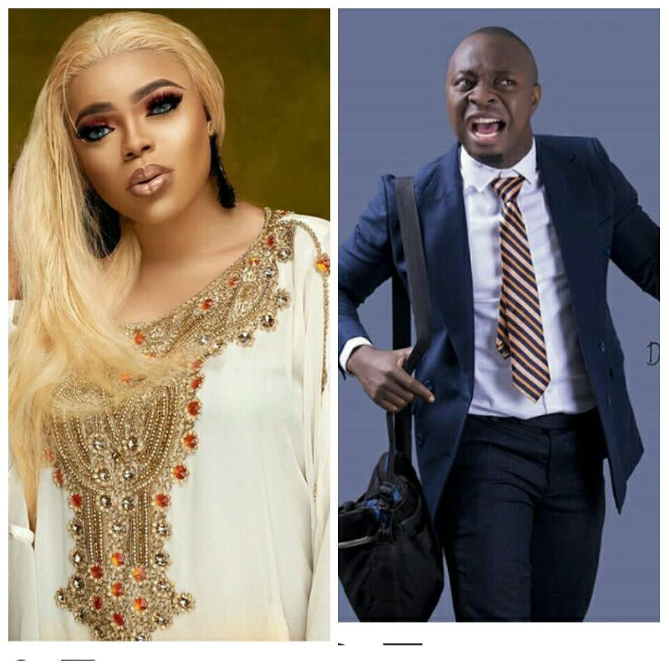 Bobrisky calls out popular comedian MC Lively on his birthday