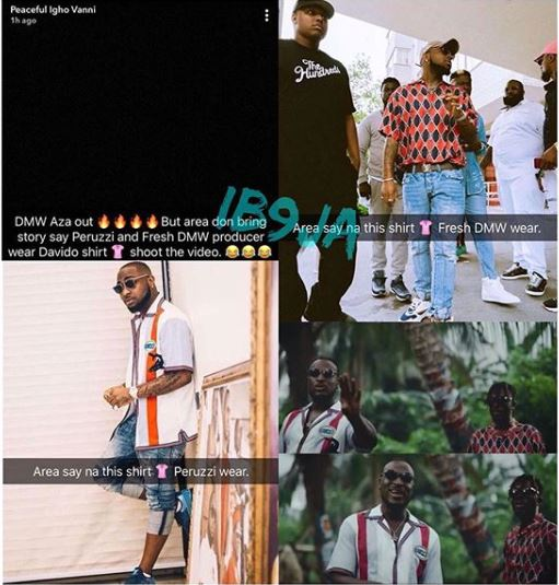 Peruzzi, Fresh Called Out for Wearing Davido's Used Clothes