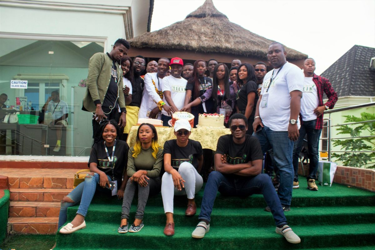 Photos from The Entrepreneur And Empowerment Initiative Of Nigeria ((TEEINS) celebrating with Nigerian Bloggers