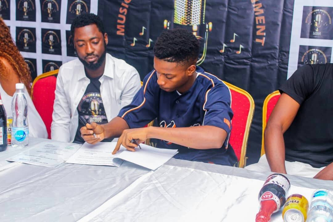Music by Nature Record label (MBN), signs Unilag Sensational Singer,