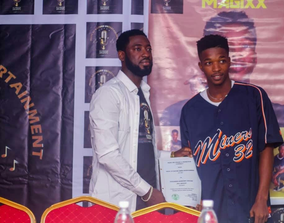 """Music by Nature Record label (MBN), signs Unilag Sensational Singer, """"MAGIXX"""" to its label"""