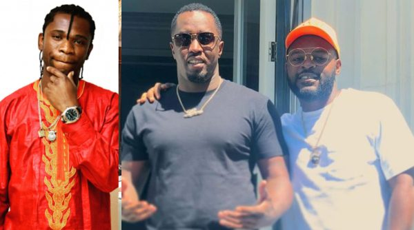 Speed Darlington shades Falz for meeting Diddy lailasnews