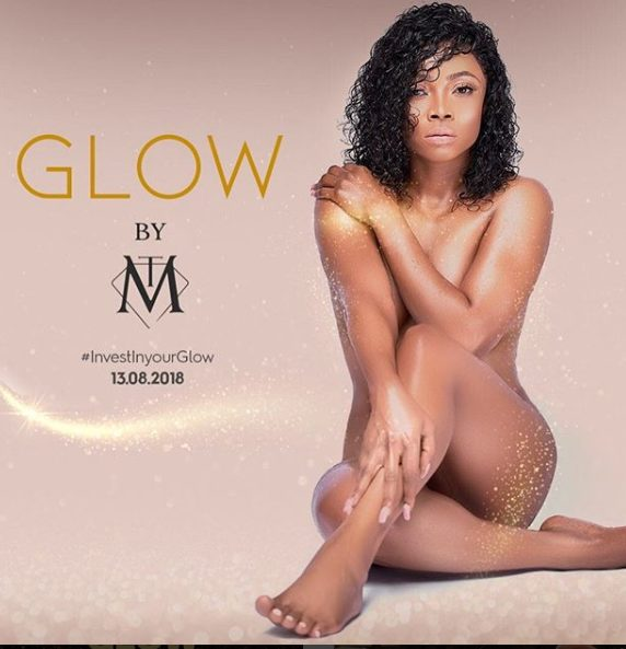 Media Personality, Toke Makinwa reveals why she went nude for campaign shoot