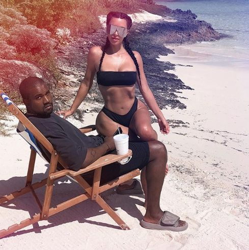 Kim Kardashian give reasons why Kanye never featured in vacation photos