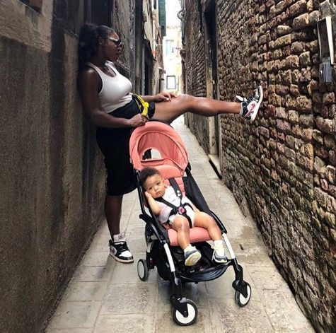 Serena Williams Shares Weirdly Wonderful Pic Of Daughter And Doll