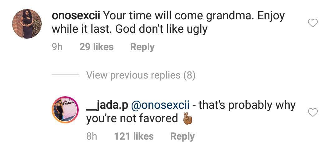 Wizkid's 3rd babymama ,Jada Pollock fires back at troll over Shola saga