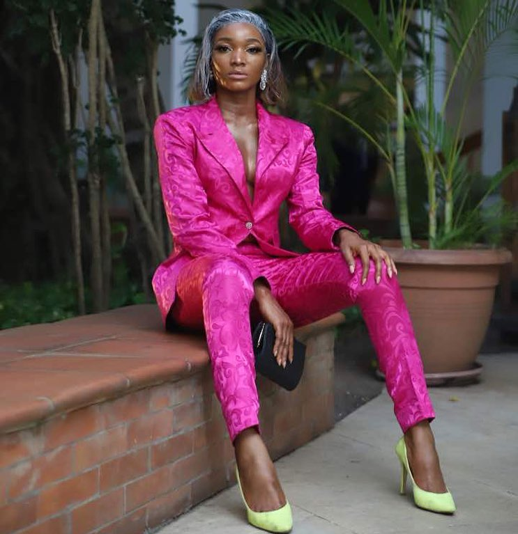 Wofai Fada laments about her iPhone 7 stolen at #AMVCA2018