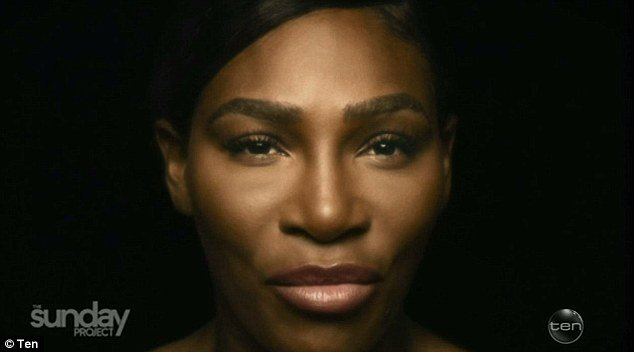 Serena Williams strips off 'naked' for Berlei Bra cancer awareness campaign