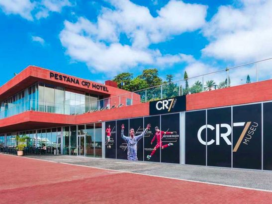 Cristiano Ronaldo to open CR7 hotel in Paris