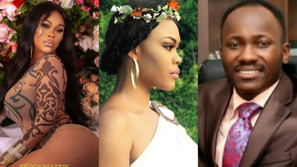 Daniella Okeke finally opens up on her alleged affair with Apostle Sulieman