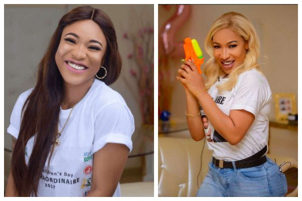 Tonto Dikeh gushes over the feeling of f*cking with a real man
