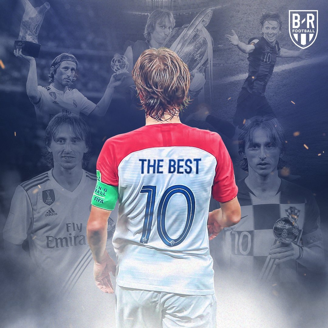 Lukas Modric Crowned FIFA's The Best of 2018