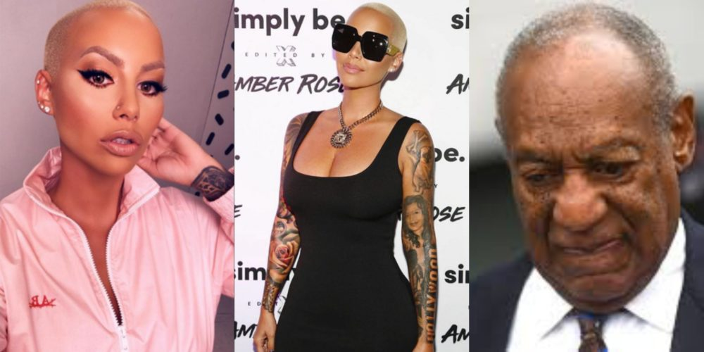 Justice is finally served – Amber Rose drags Bill Cosby after sentence