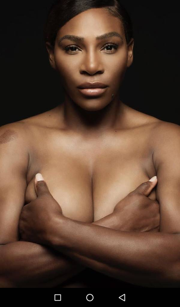 Serena Williams goes topless, sings I Touch Myself for Breast Cancer campaign (video)