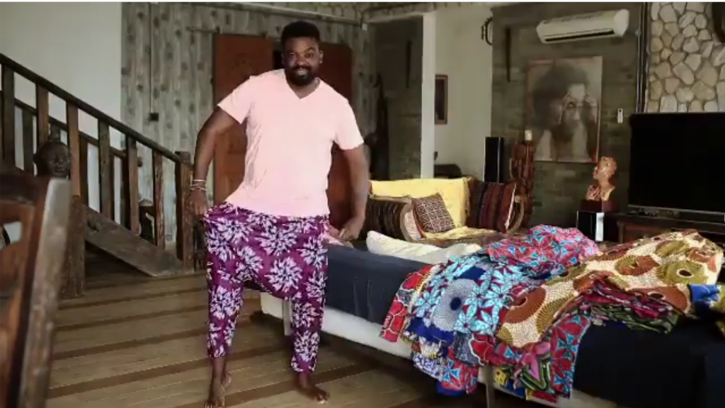 Kunle Afolayan to Showcase His New Clothing Line - Kunle's Kembe For the First Time on AFWN Runway