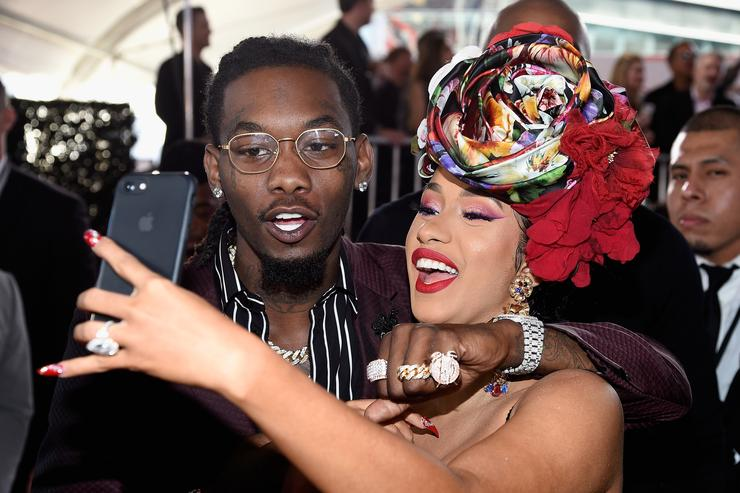 Cardi B And Offset Split, she makes it official