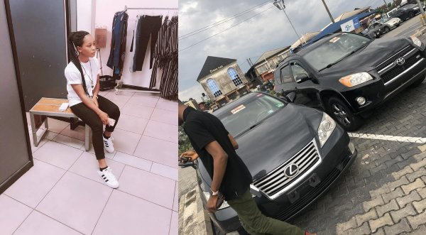 19-year-old Nigerian female blogger buys 2 cars for her parents