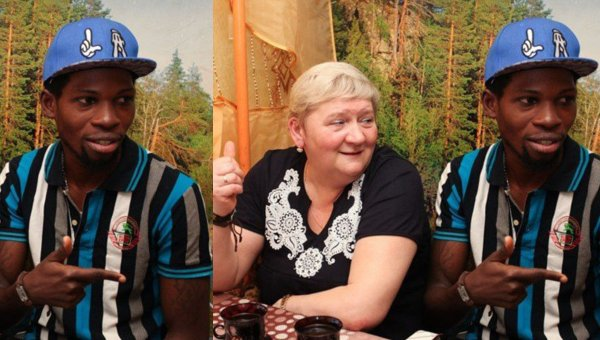 32 year old Nigerian man married to 50 year old Russian woman dies of heart attack lailasnews