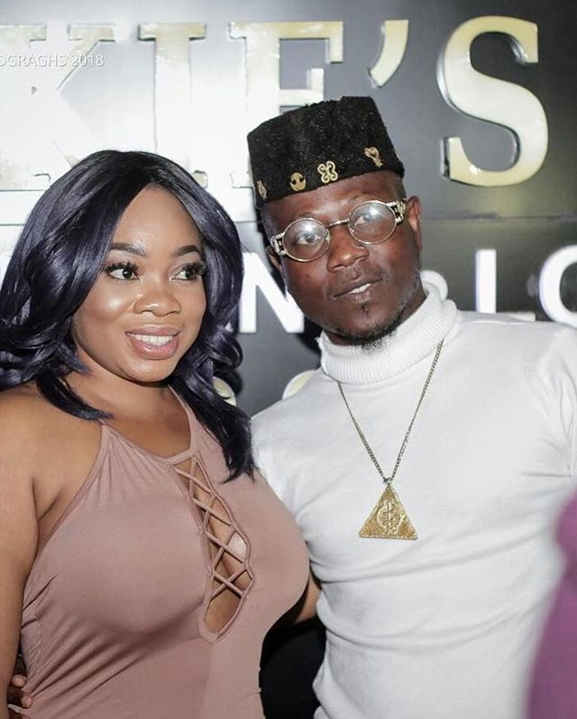 Braless Moesha Boduong Poses With A Man At Event, Fans React