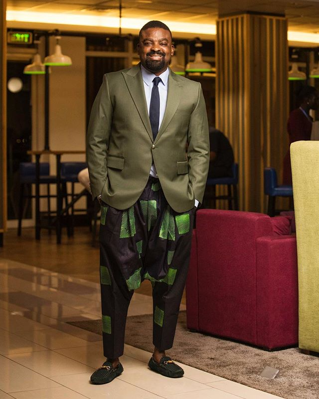 Kunle Afolayan Introduces Suit On Kembe