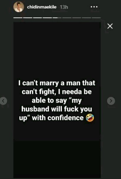 Chidinma Begins Search For A Husband