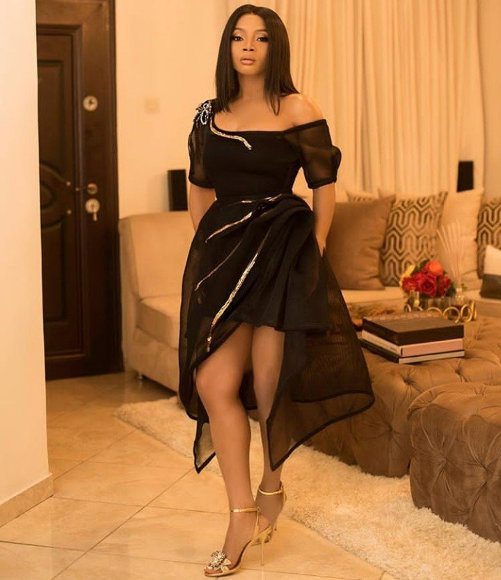 Toke Makinwa Replies Fan Who Said Men Would Be Scared Of Her Because She Is Rich