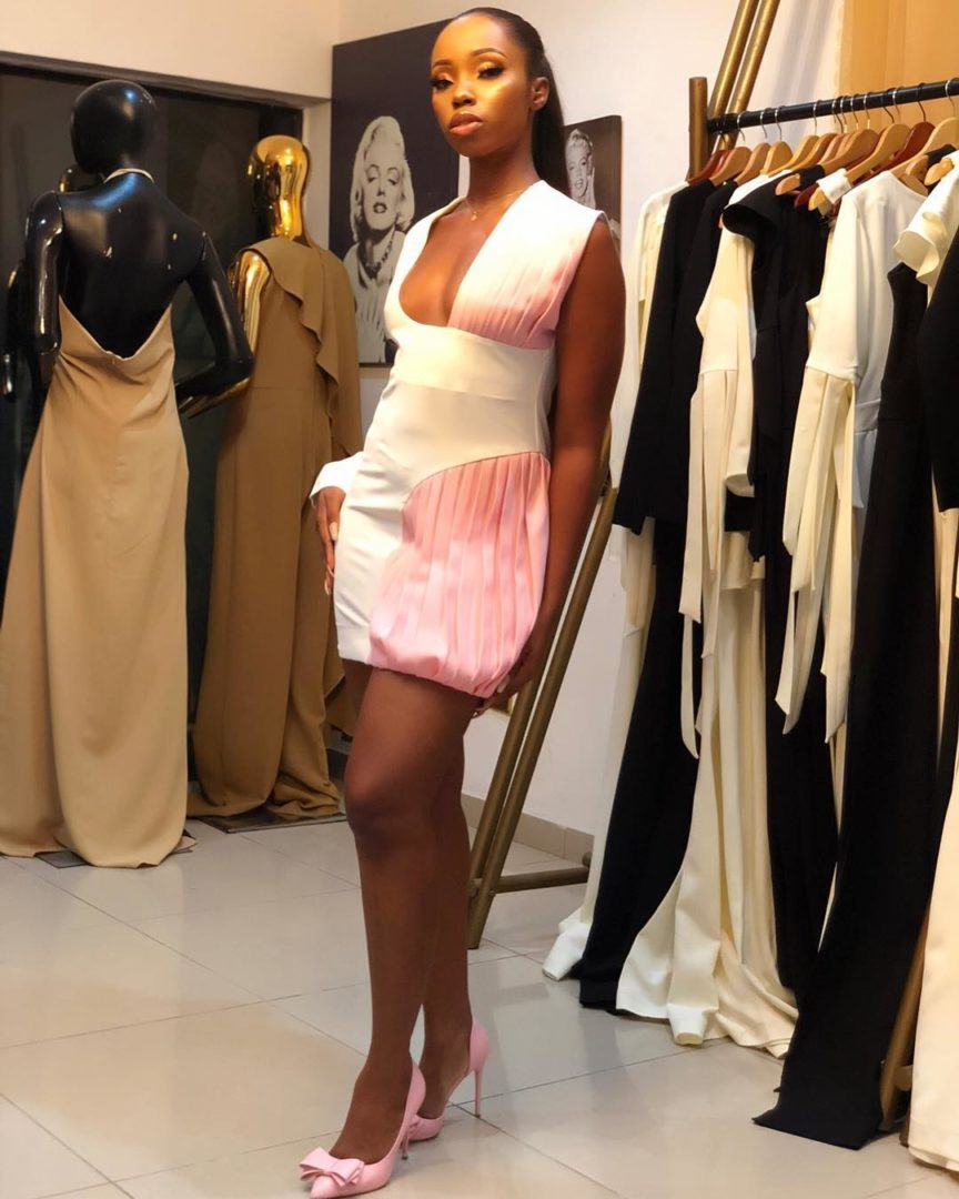 Bambam Wears Cleavage-Baring Outfit To GTB Fashion Week