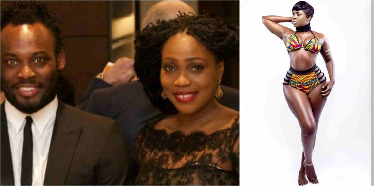 Former Black Star Player, Michael Essien's Wife Reportedly Packs Out Over His Affair With Princess Shyngle