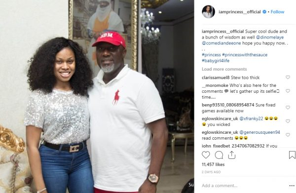Between Princess and troll accusing her of sleeping with Dino Melaye lailasnews 1