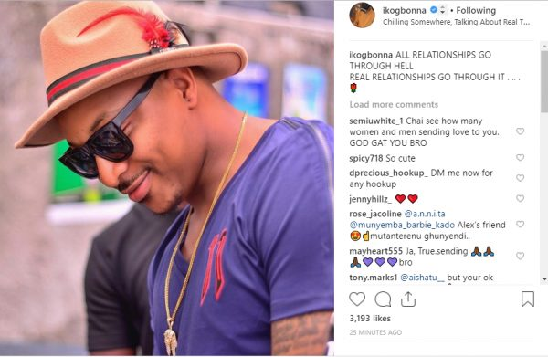 IK Ogbonna reacts after wife flashed finger without wedding ring lailasnews 2
