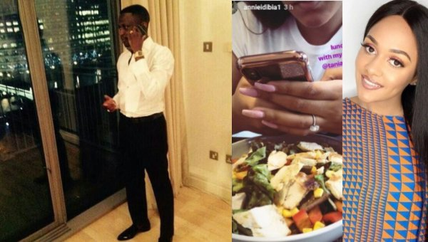 Wizkid Ex-girlfriend Tania Omotayo reportedly engaged to buzzbar co-owner, Sumbo
