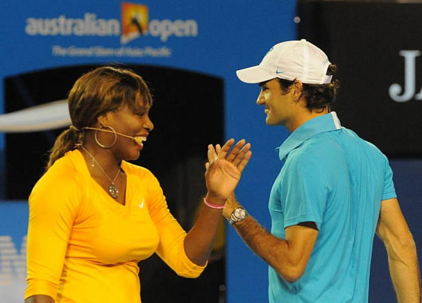 Serena Williams admits she got distracted because of Roger Federer