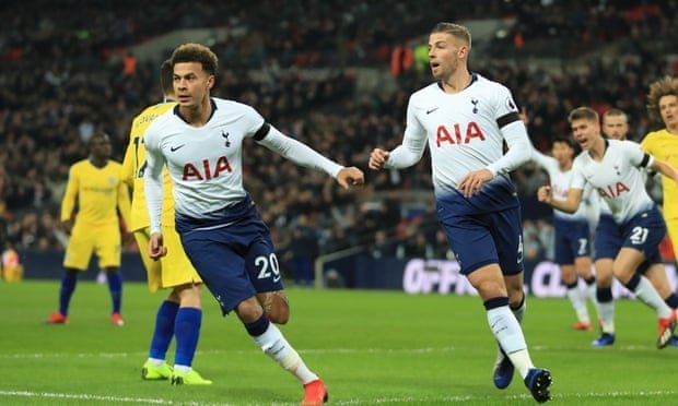 Impressive Spurs inflict Chelsea's first league defeat of the season