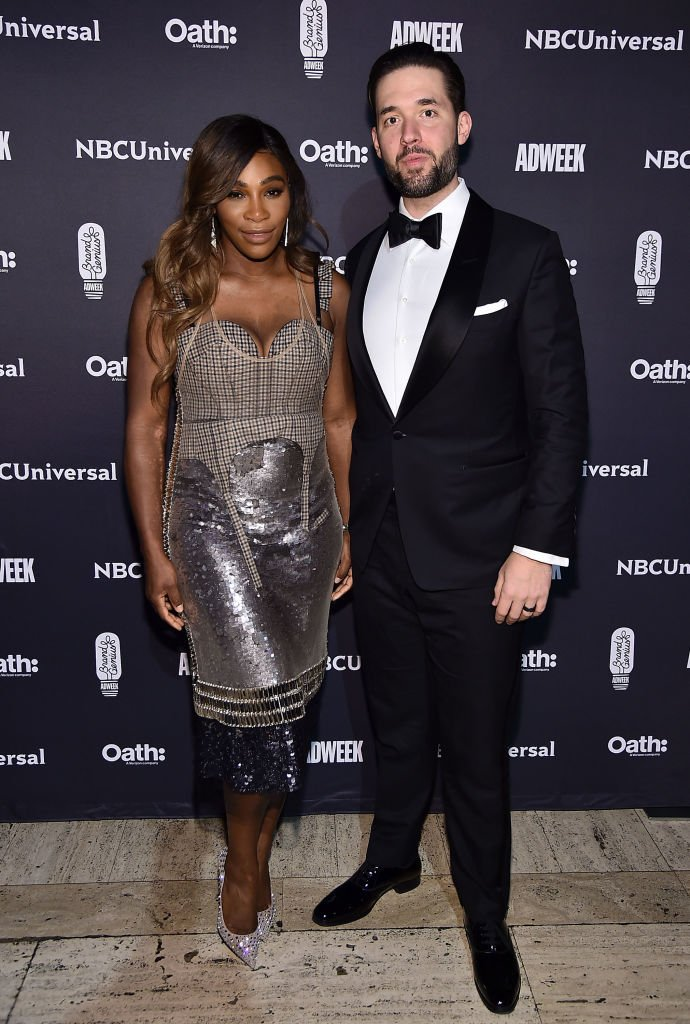 Serena Williams & Husband Alexis Ohanian Couple Up For Brand Genius Awards 2018
