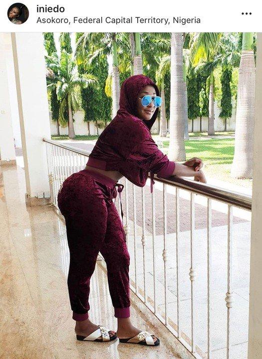 Ini Edo Celebrates 4 Million Instagram Followers With Sultry Pose