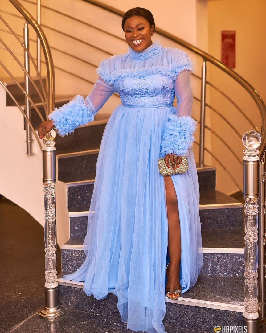 Uche Jombo's Outfit To 'Heaven On My Mind' Premiere
